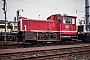 "O&K 26928 - DB ""335 218-4"" 18.06.1990 - Oberhausen, Bahnbetriebswerk OsterfeldAndreas Kabelitz"