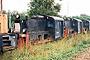 """Windhoff 800 - DB AG """"310 840-4"""" 17.08.1996 - Cottbus, BahnbetriebswerkDaniel Kirschstein (Archiv Tom Radics)"""